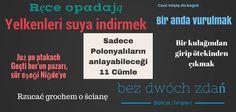 SADECE POLONYALILARIN ANLAYABİLECEĞİ 11 CÜMLE