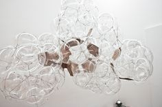 This piece designed by Tomas Saraceno, is a much clearer design to show the shape. This is the design which has influenced me to create my light fitting, shown in the tea interior.