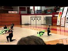Goshen Varsity Winter Guard 2016 Showcase - YouTube