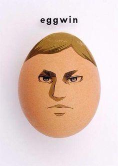 This is The god egg Anime Meme, Funny Anime Pics, Otaku Anime, Aot Anime, Anime Cat, Kawaii Anime, Memes Lol, Aot Memes, Attack On Titan Meme