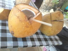 """The Beauty of Indonesia - fresh coconut water!!! Or in Indonesian is """"es degan"""" #poktunggalbeach"""