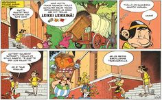 Asterix - Jumaltenrannan nousu ja tuho. #sarjakuva #sarjis #obelix #trubadurix #rooma #egmont