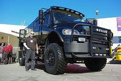 New Sport Chassis Semi Trucks, Lifted Trucks, Automobile, Off Road Camping, Ground Transportation, Armored Truck, Bug Out Vehicle, Ford, Big Guns