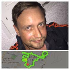 TAG 1 - am Abend des ersten Tages des Projektes musste ich nochmal eine Runde durch Freiburg laufen...war toll!