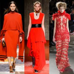 Channel the red vibe to your wardrobe for a modern ladylike Fall consequence.