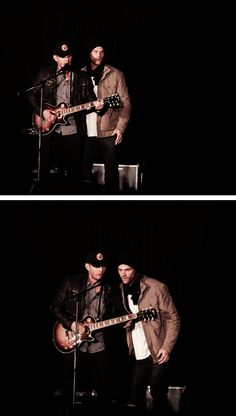 "Jensen and Jared ""special appearance"" Saturday night at Louden Swain Concert at #PhxCon15 #PHXcon 2015"