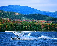 This picture brings back memories of my sea plane excursion as a kid on Moosehead. Moosehead Lake Maine, Greenville Maine, Great Places, Places To Visit, Maine In The Fall, Camping In Maine, Plane Photography, Visit Maine, Red River Gorge