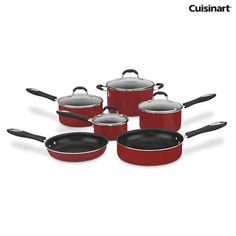 I found this amazing Cuisinart 55-10R Advantage Nonstick 10-Piece Cookware Set at nomorerack.com for 66% off. Sign up now and receive 10 dollars off your first purchase