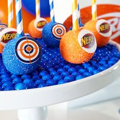 birthday party decorations 447967494187492392 - Ultimate Nerf Birthday Party – TINSELBOX Source by saralengude Nerf Party, Wild One Birthday Party, Safari Birthday Party, Birthday Party Celebration, Adult Birthday Party, Birthday Party Decorations, 8th Birthday, Birthday Ideas, Birthday Cake