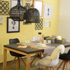 Black & Yellow #black #yellow #wohnen #einrichten #deko #küche #leben