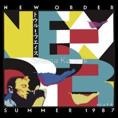 """New Order Summer 1987 Tour """"True Faith"""" shirt"""