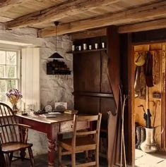 Cosi Tabellini at Bryn Eglur, The Welsh House, Carmarthenshire. Cottage Living, Cozy Cottage, Cottage Homes, Cottage Style, Stone Cottages, Cabins And Cottages, Interior Architecture, Interior And Exterior, Interior Design