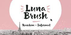 Font dňa – Luna Brush   https://detepe.sk/font-dna-luna-brush