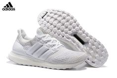 reputable site 966db fe715 Find Quality 2017 Mens Womens Adidas Ultra Boost Running Shoes All White and  ...