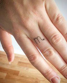 Small scorpio tattoo by Joey Albert