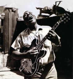 Chester Arthur Burnett, known as Howlin' Wolf, was an influential American blues singer, guitarist and harmonica player.