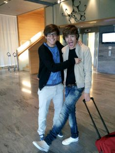 Lou & Liam. Too cute!