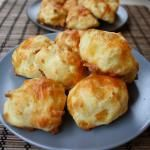 Gourgères with Gruyere (Cheese Puffs)
