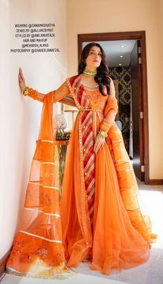 - Source by ansaha - Shadi Dresses, Pakistani Formal Dresses, Pakistani Dress Design, Pakistani Outfits, Indian Outfits, Desi Wedding Dresses, Party Wear Dresses, Wedding Wear, Pakistani Fashion Party Wear