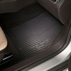 4 Piece Highland 4547800 Weather Fortress Gray Premium Synthetic All Weather Floor Mat