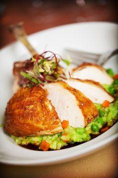 Pan Roasted Chicken. The Barrymore at Royal Resort in Las Vegas