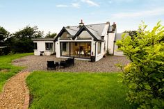 double pitched with rain chain Cottage Extension, County Mayo, House Extensions, Architect Design, Pitch, Rain, House Styles, Projects, Blue Prints