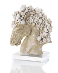 Shell Encrusted Pegasus