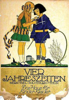 VIER JAHRESZEITEN * Eric de Coulon / Robert Alexandre Convert, Robert 1917