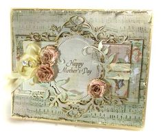 Flourish Trim D-Lite,  Floral Ovals, Bitty Blossoms, Long Classic Rectangles LG - Spellbinders