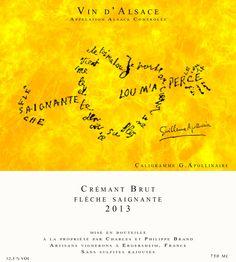 #Crémant Brut Nature #DomaineBrand&Fils  #vin #naturel