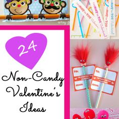 24 Non-Candy Valentine Ideas - It Happens in a Blink