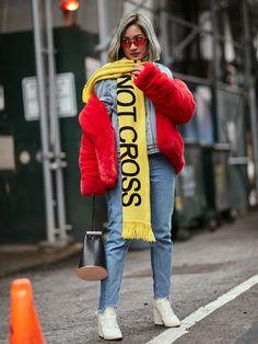 New York Fashion Week Street Style February 2018 Street Style Trends, Top Street Style, Street Style 2018, Autumn Street Style, Street Chic, Winter Style, New Yorker Street Style, New York Fashion Week Street Style, New York Street