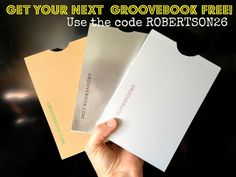 Get Your Next Groovebook FREE from Hi! It's Jilly. Use the code ROBERTSON26.