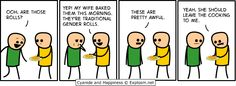 Cyanide & Happiness, Comic for Search for Fun - Funny Clone Comics 2018 Cyanide And Happiness Comics, Web Comics, Word Board, Gender Roles, Just For Laughs, The Funny, I Laughed, Haha, Laughter