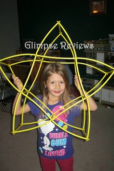 Glimpse: Build It With Straws & Connectors ~ GIVEAWAY!!