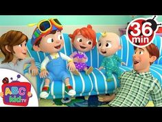 Laughing Baby with Family | +More Nursery Rhymes & Kids Songs - ABCkidTV - YouTube
