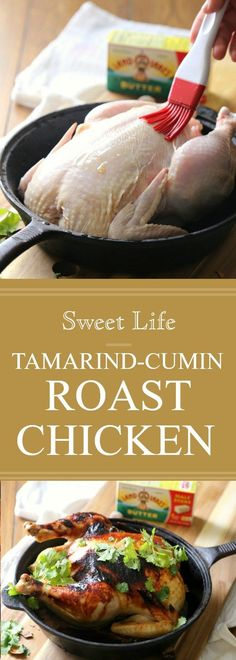 My Tamarind Cumin Roast Chicken is my go-to dinner for two. Seasoned with a delicious tamarind sauce this meal takes minimal time to prepare, plus the oven does most of the work.I am excited to be partnering withLand O' Lakes this year to bring you exciting new recipes. Thank you for supporting the brands I …