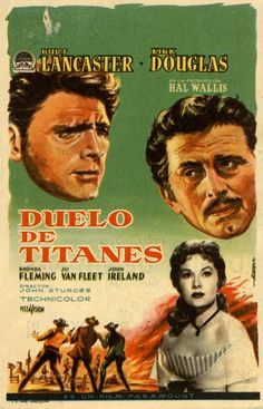 256. ALBERICIO. Duelo de titanes. Dirigida por John Sturges. Barcelona: I. G. Marí, 1962. #ProgramasdeMano #BbtkULL #Western #DiadelLibro2014