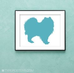 Pomeranian+Dog+Art+Print+by+TypePosters+on+Etsy,+$15.00