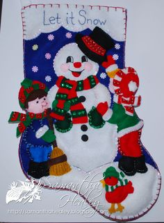 Felt Christmas Stocking :)