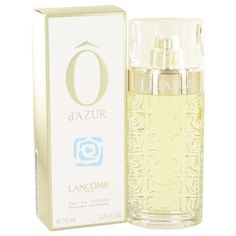 O D'azur By Lancome Perfume For Women oz Eau De Toilette Spray Glass Containers, Women Brands, Lancome, Mother Gifts, Things That Bounce, Perfume Bottles, Nail Polish, Cosmetics, Makeup