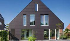 Contemporary house in Utrecht, NL. EQUITONE facade panels. equitone.com