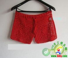 crochet pants - cool for the summer!    Russian site, Japanese pattern