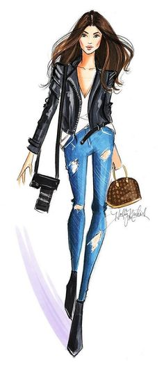 boho, fashion, and grunge Fashion Illustration Indie Fashion, Grunge Fashion, Look Fashion, New Fashion, Trendy Fashion, Fashion Art, Fashion Models, Vintage Fashion, Boho Grunge