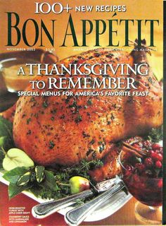 Nov 07, · 4 Thanksgiving recipes that Bon Appetit editors love originally appeared on skillfulnep.tk do foodies do Thanksgiving?We asked the editors at Bon Appétit to share their favorite.