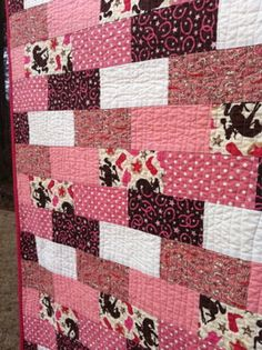 Cowgirl quilt for my little girl