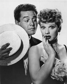 I Love Lucy!!!! yes, I really really do!...LUCILLE BALL & DESI ARNAZ