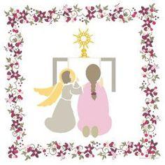 Sonnez les matines First Communion, Carpe Diem, Neverland, Folk Art, Bts, Illustrations, Bracelet, Patterns, Deco