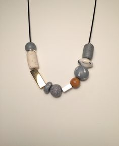 No. 5 | polymer clay, wood and metal