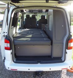 images campervan interior cubbie hole bed - Поиск в Google